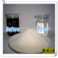 chemical auxiliary agent activated bleaching earth for waste oil refining