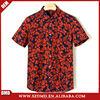 2015 New design custom printed hawaiian shirts for men