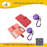 Top quality personalized paper wallets with badge holder