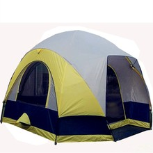 Family camping large canvas tents for outdoor used