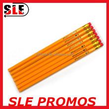 OEM Logo printing #2 yellow pencil
