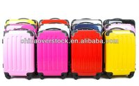 """Colourful ABS+PC Trolley Case Polycarbonate Luggage 20"""" 24"""" 28"""" 3PCS"""