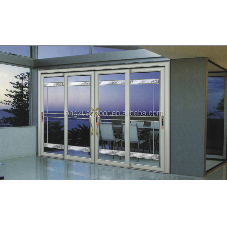 Factory custom residential or commerical aluminium sliding for Residential sliding doors