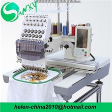 computer embroidery machine single head