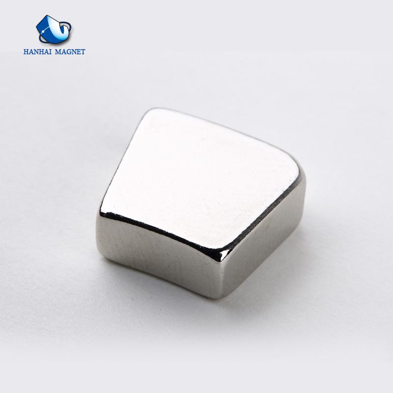 Çin Üretici ISO Güçlü Ark Nadir Toprak Motor Magne