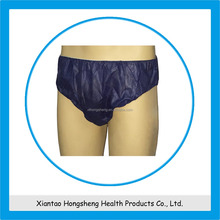 Beauty center and hospital use disposable men's underwear,nonwoven men's brief,pp men's boxer