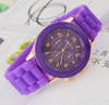 cheap custom silicone watch with eco-friendly waterproof durable watch band