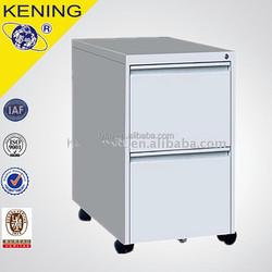 Two drawer Steel Mobile Pedestal