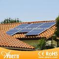 preço de fábrica e de alta eficiência sistema de gerador solar 1500w