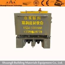 precast fence processing machine for concrete fencing production