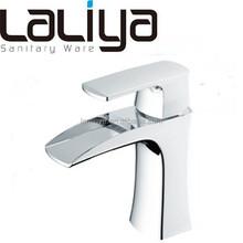 Hot sale modern bathroom waterfall basin faucet