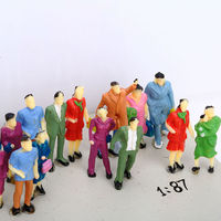 1:87 architectural layout model figure