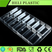 plastic electronic components packaging container