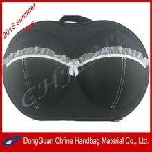 2015 Fashionable EVA Bra Bag Organizer Travel Lightweight Underwear Storage Bag Wholesale