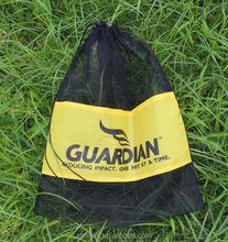 2015 new small drawstring nylon mesh bag for print