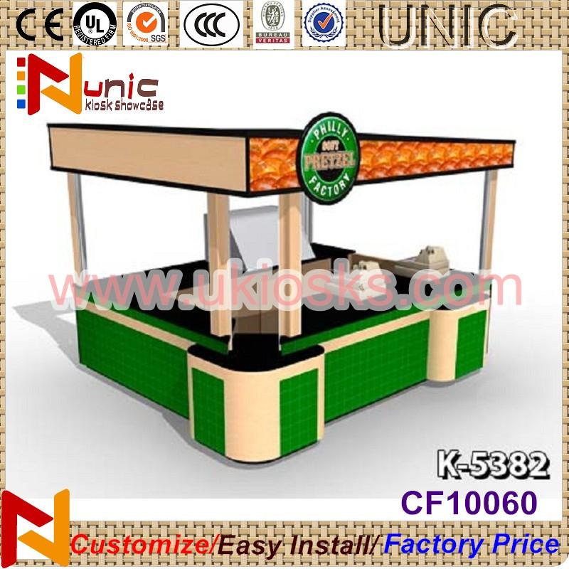 Free design fast food kiosk indoor food kiosk design mall for Indoor food kiosk design