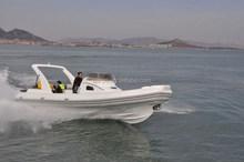 Liya 27ft 20 persons speed passenger boat fiberglass speed boat RIB
