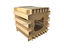 Cat scratching board dismounting house cat
