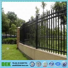 Jardín puerta de hierro forjado/pared/adornos de jardín