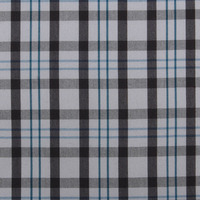 stock 100% combed cotton, quick dry plaid fabric, cheap woven fabric