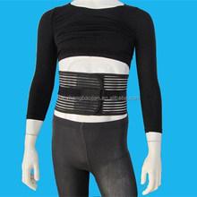 Lumbar transpirable aparato de tracción, elástica cinturón lumbar, posterior soporte lumbar