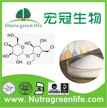 Food pure sugar substitute sweetener Sucralose powder usp manufacture