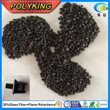 Grau de injeção de plástico pellet virgem PA66 com 30% GF preenchido