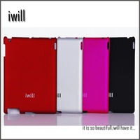 2014 Cheap matte surface PC case for ipad2/ipad3/ipad4, suit for OEM logo,mobile phone accessory