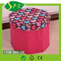 Multifunction Canvas Sweater Drawer Storage Box Organizer