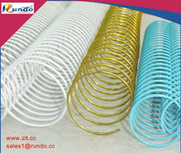 office school supplies nylon coated Iron unicoil metal spiral coil for binding