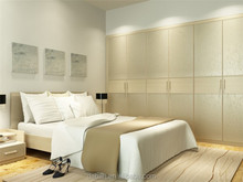 Jisheng brand wooden white_lacquer_wardrobe wardrobe furniture sets_home furniture top wardrobe factory in China foshan