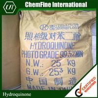 Hydroquinone powder 99% 123-31-9 Hydroquinone price