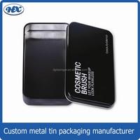 Hot sale manufacture rectangular tin metal tin box empty aluminum cans tin box