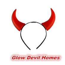 Hot Sale Plastic Ox Horn Halloween Headband