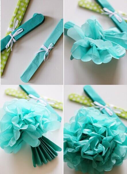 Kids birthday party backdrop ideas tissue paper fan backdrop paper 50g mightylinksfo