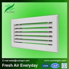 de plástico de la rejilla de ventilación ventana de difusor de aire para el sistema de climatización