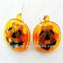 fiesta de halloween calabaza decoraciones led parpadeante pendiente