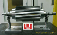 Pelletizer Rotor Cutter for Plastic (Resin) Processing Industry