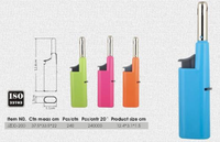 H-plastic material cheap electronic kitchen lighter