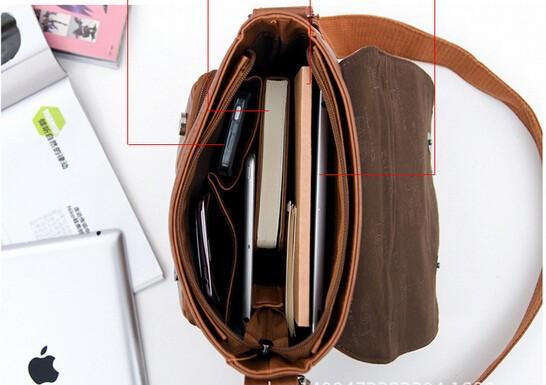! messenger & LM0147b men's men travel messenger bags mens canvas brand business bags