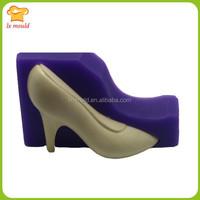 large 3d Elegant High Heel shoe cake Silicone Mold for cake decorating