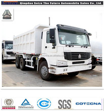 sinotruck sinotruk ethiopia 6X4 dump truck for hot sale