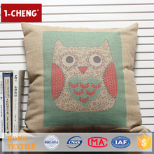 Hot Sale Creative Cute Owl Pattern Printing Design Cushion,Home Decor Pillow Case,Car Seat Covers