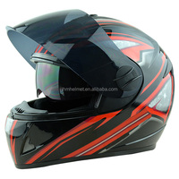 New cusotm full face motorcycle helmets with anti-fog dual visors