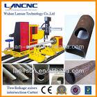 Cnc aço/inoxidável/cooper tubo de perfil máquina de corte