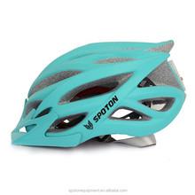 in-mold EPS material Bike Helmet with LED light & visor