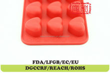 heart hard candy mold Chocolate Muffin Cup Cake Candy Ice Tray Mold Mold Maker Party Bar