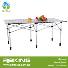 Foldable Alu Table for Camping