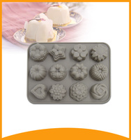 baking tools silicone tray and molds for cake concrete decoration