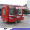 Moda de la calle, clientes favoritos vagón restaurante eléctrico / camión móvil de alimentos